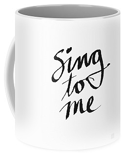 Sing To Me- Art By Linda Woods Coffee Mug