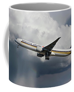 Singapore Airlines Boeing 777-312 Coffee Mug