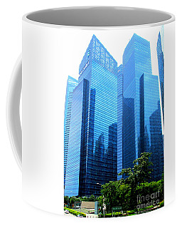 Singapore Architecture 1 Coffee Mug by Randall Weidner