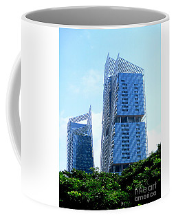 Singapore Architecture 15 Coffee Mug by Randall Weidner