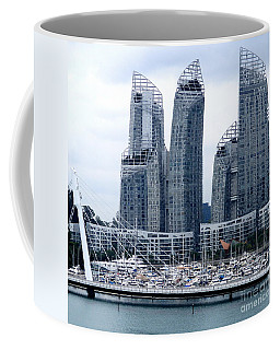 Singapore Architecture 19 Coffee Mug by Randall Weidner
