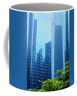 Singapore Architecture 6 Coffee Mug by Randall Weidner