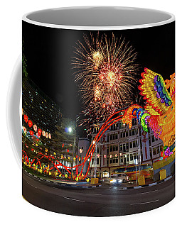 Singapore Chinatown 2017 Chinese New Year Fireworks Coffee Mug