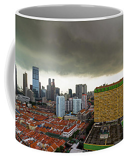 Singapore Chinatown Aerial View Coffee Mug