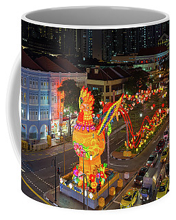 Singapore Chinatown Chinese New Year 2017 Night Scene Coffee Mug
