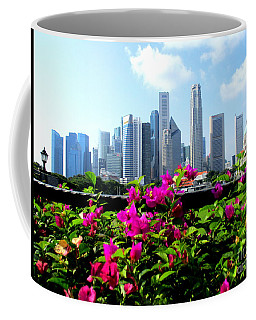 Singapore Skyline Coffee Mug