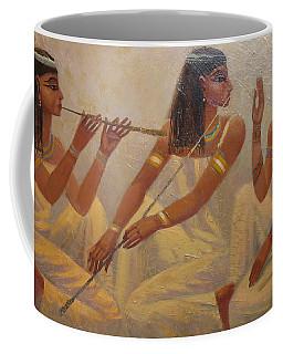 Singers Of Pharaoh Coffee Mug