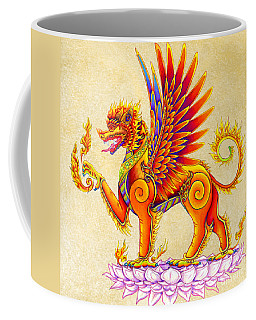 Singha Winged Lion Coffee Mug