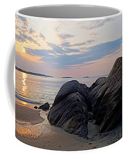 Singing Beach Rocky Sunrise Manchester By The Sea Ma Coffee Mug