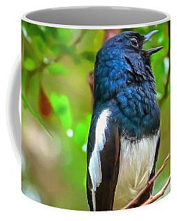 Singing Ceylonese Robin-magpie Coffee Mug