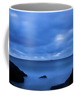 Coffee Mug featuring the photograph Singing The Blues, Singing Beach   by Michael Hubley