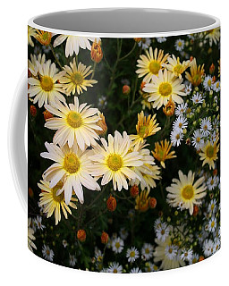Coffee Mug featuring the photograph Single Chrysanthemums by Kathryn Meyer