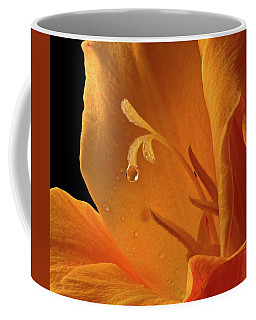 Coffee Mug featuring the photograph Single Drop by Jean Noren