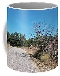 Single Lane Road In The Hill Country Coffee Mug
