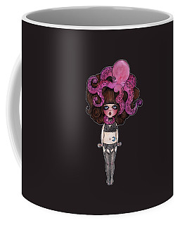 Single Night With The Octopus Coffee Mug