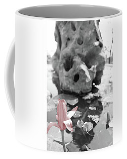 Single Pink Flower Coffee Mug