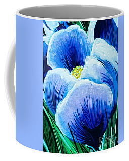Single Spring Crocus Coffee Mug