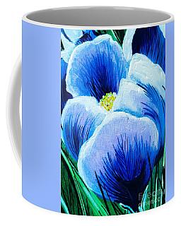Single Spring Crocus Coffee Mug