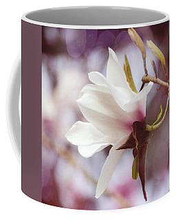 Single White Magnolia Coffee Mug