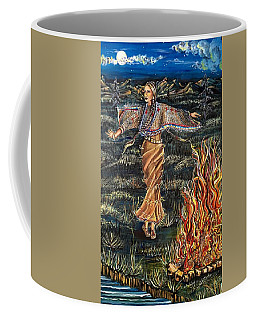 Sioux Woman Dancing Coffee Mug