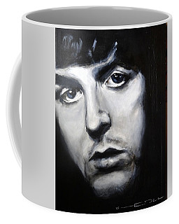 Coffee Mug featuring the painting Sir Paul Mccartney by Eric Dee