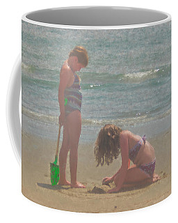 Sisters In The Sand Coffee Mug