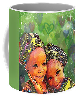 Sisters Love Coffee Mug