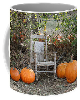 Coffee Mug featuring the photograph Sit With Me by Sheila Brown