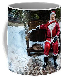 Sit With Santa Coffee Mug