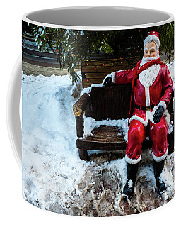 Sit With Santa Coffee Mug