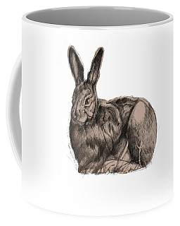 Sitting Bunny Jan 2017 Coffee Mug