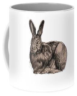 Sitting Bunny Jan 2017 Coffee Mug