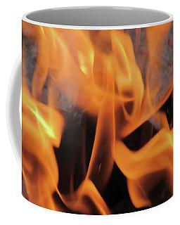 Sitting By The Crackling Fire Coffee Mug