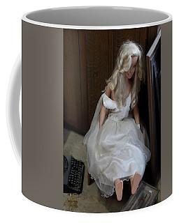 Sitting Doll Coffee Mug