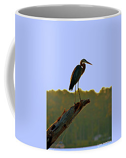 Coffee Mug featuring the photograph Sitting High On The Log by Lisa Wooten