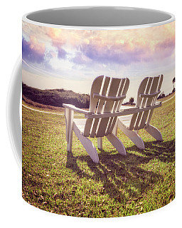 Coffee Mug featuring the photograph Sitting In The Sun by Debra and Dave Vanderlaan