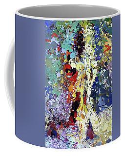 Sitting Nu Abstract Coffee Mug