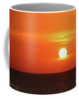 Coffee Mug featuring the photograph Sitting On A Cloud by Mariarosa Rockefeller