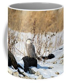Sitting Snowy Coffee Mug