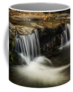Coffee Mug featuring the photograph Sitting Under The Waterfall  by Saija Lehtonen