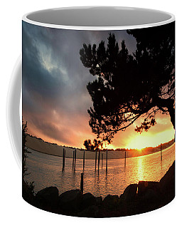 Siuslaw River Autumn Sunset Coffee Mug