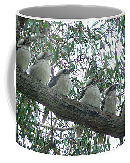 Six In A Row Coffee Mug by Evelyn Tambour