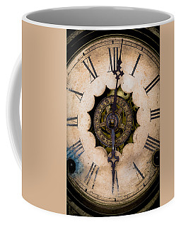 Coffee Mug featuring the photograph Six O'clock by Edgar Laureano