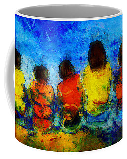 Six On The Shore  Coffee Mug