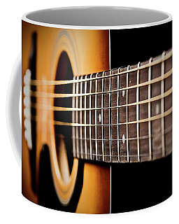 Six String Guitar Coffee Mug