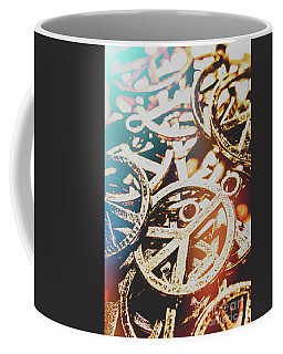 Sixties Peace Revolution Coffee Mug
