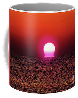 Coffee Mug featuring the photograph Sizzling Sunrise by D Hackett