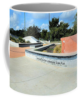 Coffee Mug featuring the photograph Skate Park by Ray Shrewsberry