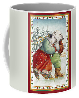 Skating Bears Coffee Mug