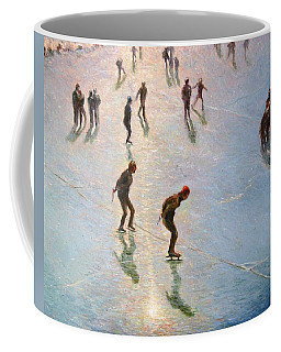 Skating In The Sunset  Coffee Mug